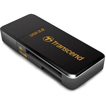 Kártyaolvasó Transcend RDF5 USB3.0 Black