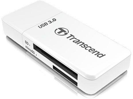 Kártyaolvasó Transcend RDF5 USB3.0 White