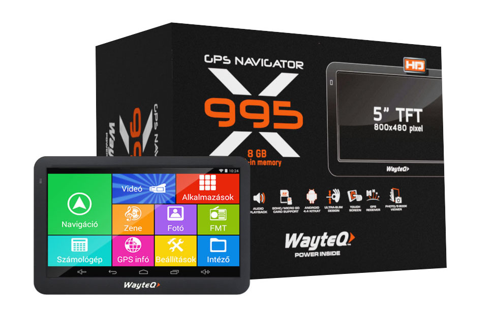 GPS Wayteq X995 GPS/TAB 5