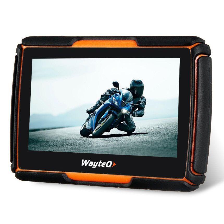 GPS Wayteq xRider Smart motoros GPS 4,3