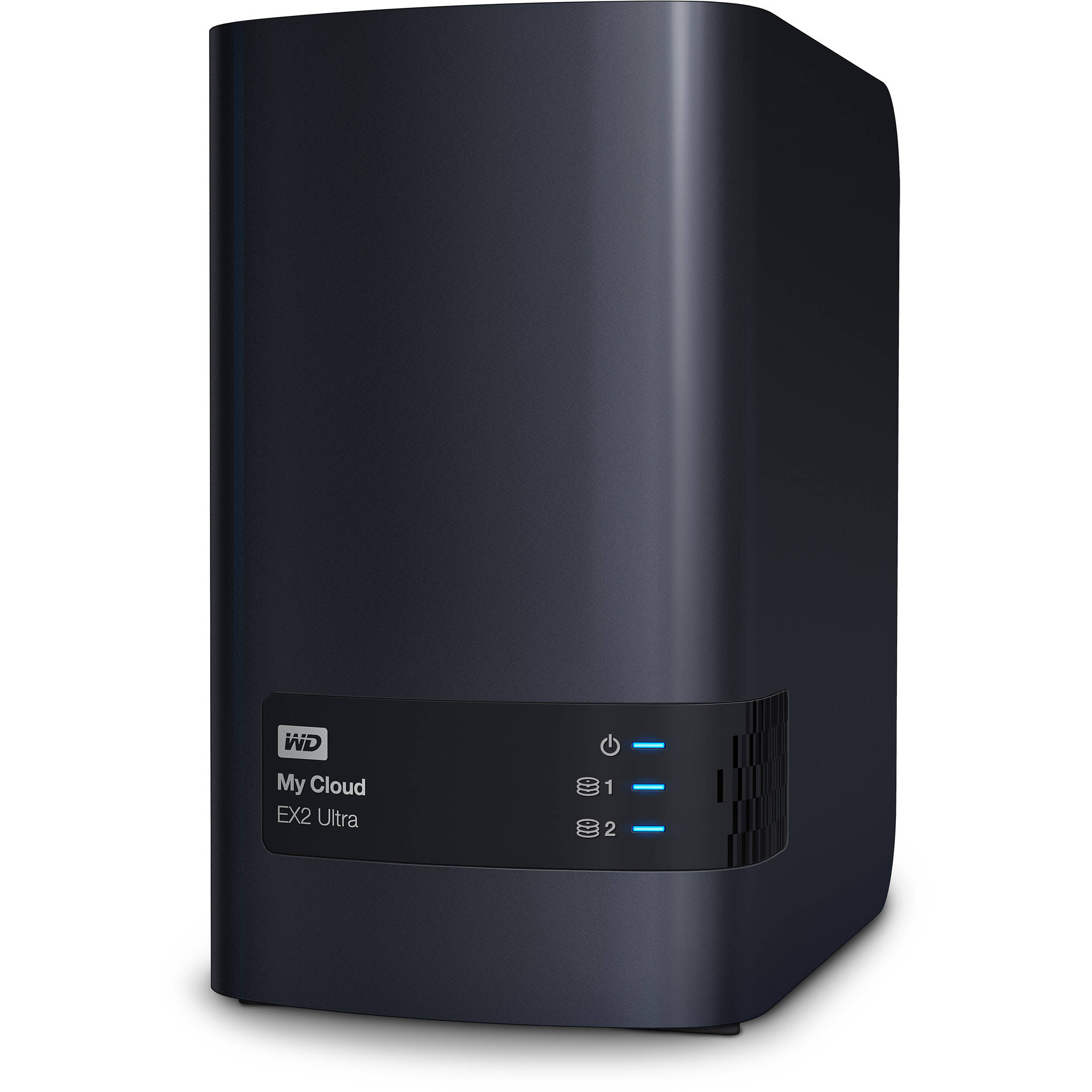 Winchester (külső) Western Digital 4TB My Cloud EX2 Ultra RJ45 Black