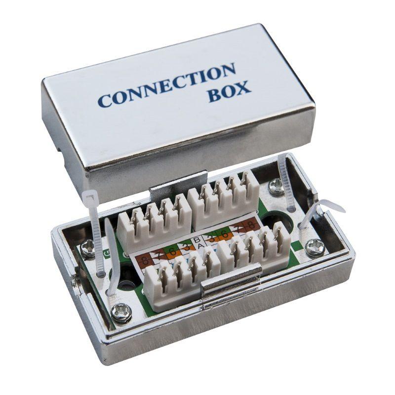 Hálózati eszközök WP Cat.5e FTP connection box